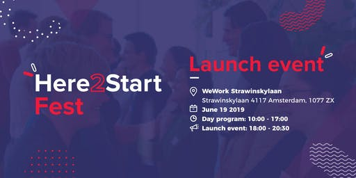 Here2Start - Launch Event