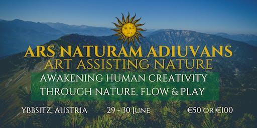 Ars Naturam Adiuvans - art assisiting nature - awakening human creativity