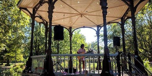 Free live music in Myatt's Fields Park SE5 - Stop Look Listen