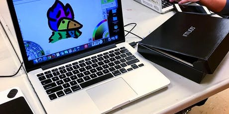 Digital Drawing: An Intro to Graphics Tablets! (Ages 9-12) tickets