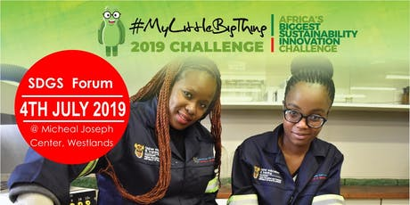 #MyLittleBigThing SDGs Forum tickets