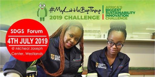 #MyLittleBigThing SDGs Forum