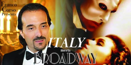 Italy Meets Broadway: A Franco Corso Production tickets