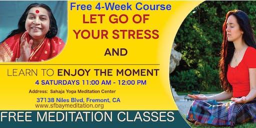 Free 4 Week Meditation Course in Fremont, CA Starting June 1st, 2019