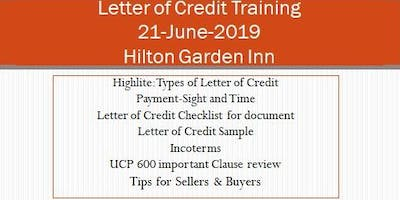 Letter of Credit Training