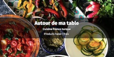 De Paris à Istanbul, bienvenue à ma table !  billets