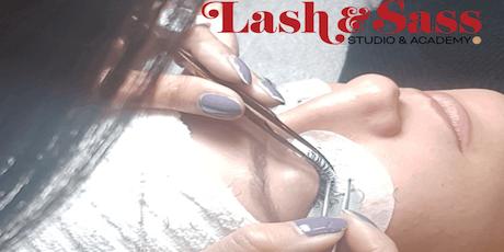Eyelash Extension Training with Lash & Sass tickets