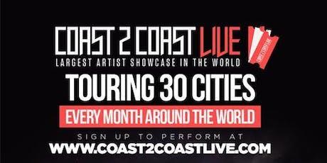 Coast 2 Coast LIVE Artist Showcase Milwaukee, WI - $50K Grand Prize tickets