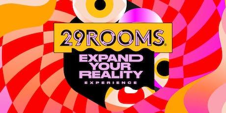 29Rooms Washington DC - October 26,2019 tickets