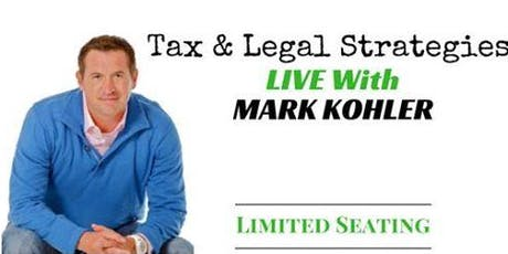 Tax Advantages and Strategies For Real Estate Investing With Mark Kohler Scottsdale tickets