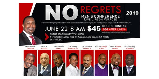 2019 NO Regrets Men's Conference