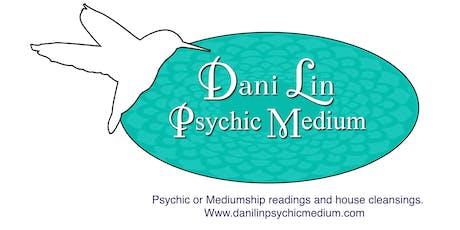 Dani Lin Psychic Medium at Relics  tickets