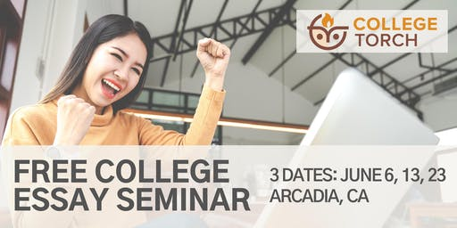 "College Essay Workshop in Arcadia CA: Craft Your ""Elevator Pitch""! (3 Dates)"