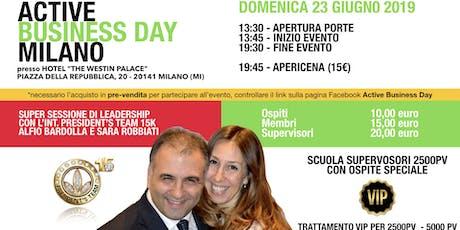 Active Business Day Milano - 23 Giugno 2019 biglietti