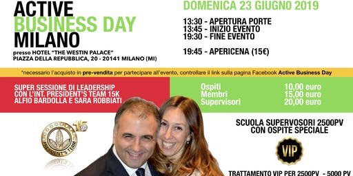 Active Business Day Milano - 23 Giugno 2019