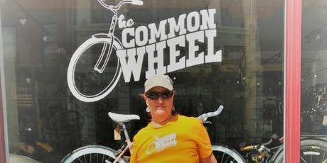 Laura's 50th Birthday 50K The Common Wheel Fundraiser ride. tickets