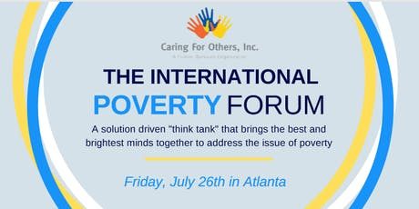THE CARING FOR OTHERS 2019 POVERTY FORUM tickets