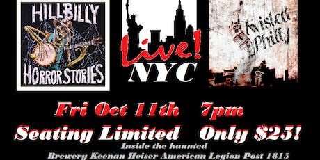 Hillbilly Horror Stories & Twisted Philly Live in NYC! tickets