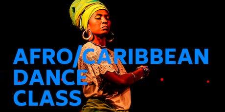 Afro Caribbean Dance Class tickets