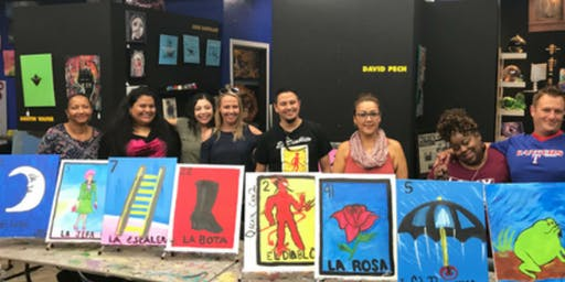 Loteria Card Painting Party