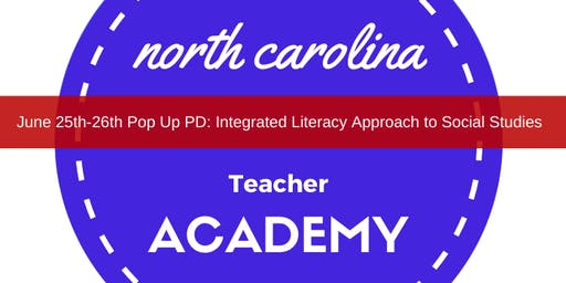 Integrated Literacy Approach to Social Studies with PBL (Event is Sold OUT)