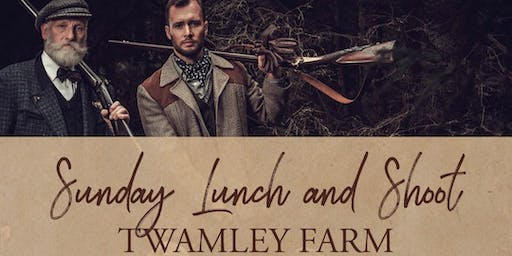 Sunday Lunch and Shoot at Twamley Farm