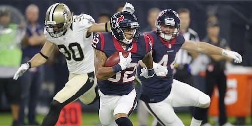 Saints vs Houston Texans New Orleans Watch Party