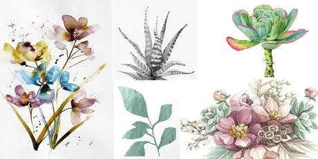Botanical Watercolors tickets