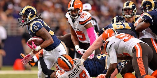 Cleveland Browns vs Los Angeles Rams New Orleans Watch Party