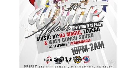 Annual All White Affair: Rep Your Flag Party tickets