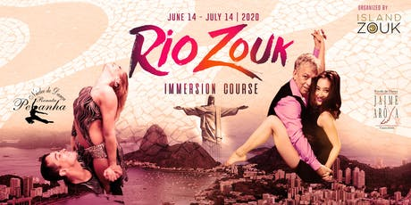 Rio Zouk 30 Day Immersion Course 2020 ingressos