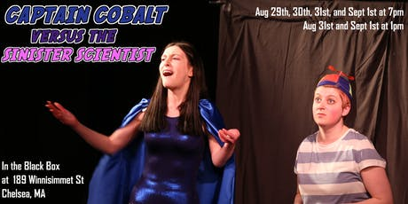 Captain Cobalt vs the Sinister Scientist tickets