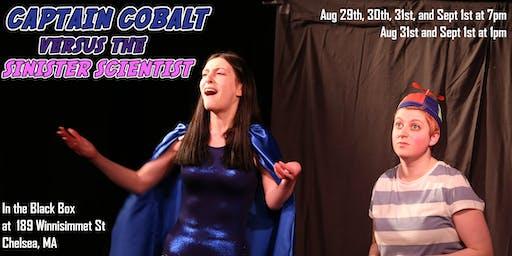 Captain Cobalt vs the Sinister Scientist