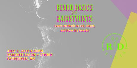 Beard Basics for Hairstylists tickets
