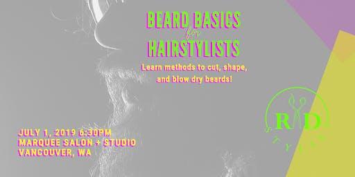 Beard Basics for Hairstylists