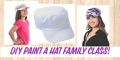 (ELGIN) DIY Hat Family Paint It! Class-7/6/19 12-1pm