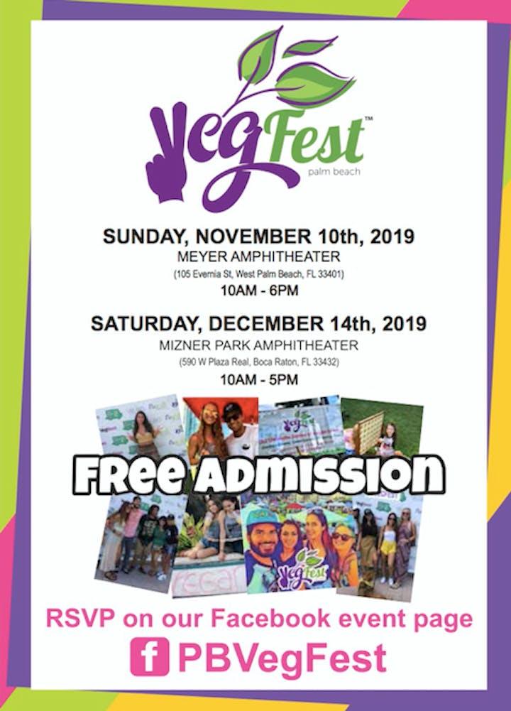 West Palm Beach Calendar Of Events December 2019 Palm Beach VegFest Tickets, Sat, Dec 14, 2019 at 10:00 AM | Eventbrite