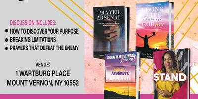 Discovering & Walking in Purpose! Book Launch & Workshop