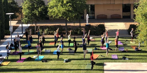 Art + Yoga at the Anderson Collection