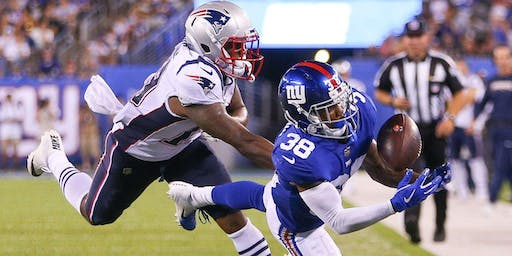 New England Patriots vs New York Giants New Orleans Watch Party
