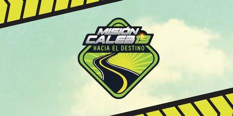 MISIÓN CALEB 2019 - Hacia el destino boletos
