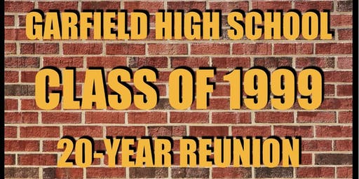 Garfield HS Class of 1999 20-Year Reunion