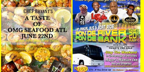 Chef  Bryant's A taste of OMG Seafood ATL tickets