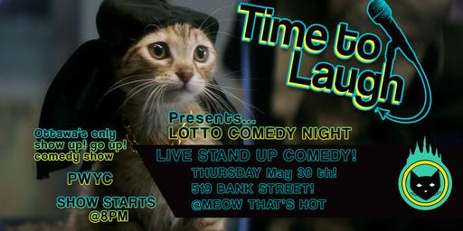 Meow That's Hot Comedy Night