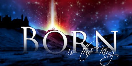 "VENDORS WANTED for a Gospel Christmas Concert ""Born Is The King"" tickets"