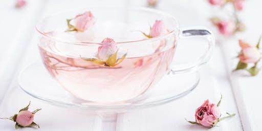 Pretty Purposed Royal Rose Tea