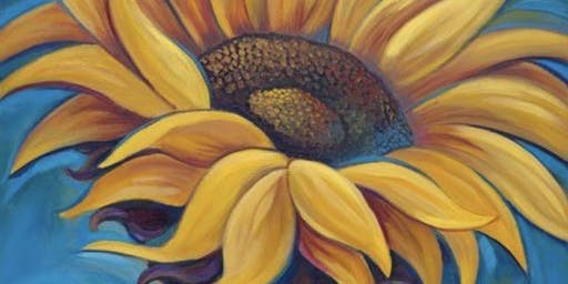 Sunflower Sip and Paint