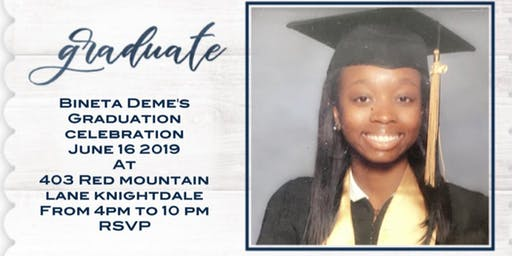 Bineta Deme's Graduation Celebration