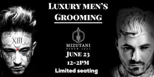 Luxury Men's grooming