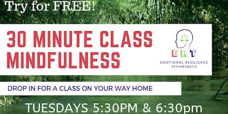 ERT, 30 Minute Mindfulness Class tickets